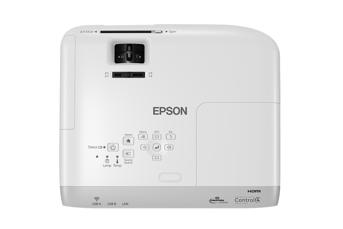 Epson EB-W39 WXGA 3LCD Projector