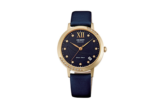 ORIENT: Mechanical Contemporary Watch, Leather Strap - 36.0mm (ER2H004D)