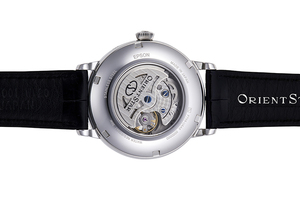 ORIENT STAR: Mecanice Clasice Ceas, Piele de crocodil Şnur - 41.0mm (RE-AM0002L)