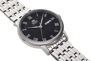 ORIENT: Mechanical Contemporary Watch, Metal Strap - 39.5mm (RA-AA0A02B)