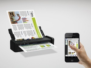 Epson WorkForce DS-360W WiFi Portable Document Scanner