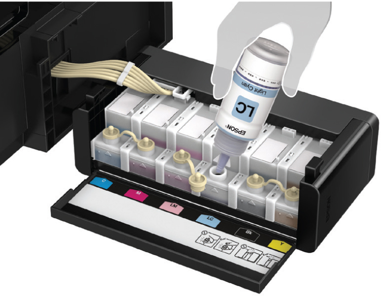 Epson L850 Photo All In One Ink Tank Printer Ink Tank