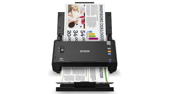 Epson WorkForce DS-560 Wireless Color Document Scanner