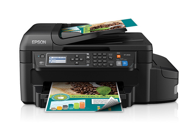 Epson WorkForce ET-4550 EcoTank All-in-One Printer
