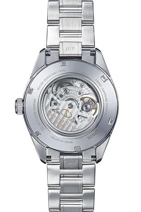 ORIENT STAR: Mechanical Contemporary Watch, Metal Strap - 41.0mm (RE-AV0003L)
