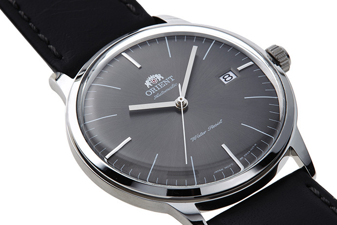 ORIENT: Mechanical Classic Watch, Leather Strap - 40.5mm (AC0000CA)