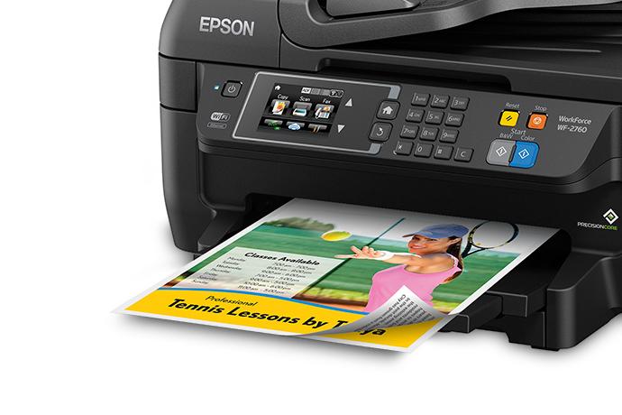 Epson Wf 2760 Printer Driver