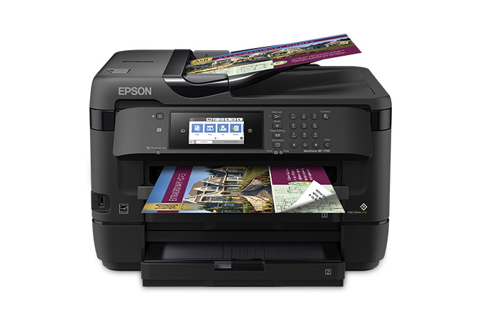 WorkForce WF-7720 Wide-format All-in-One Printer | Inkjet