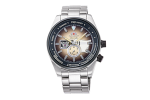ORIENT: Mechanical Revival Watch, Metal Strap - 48.4mm (RA-AR0303G) Limited
