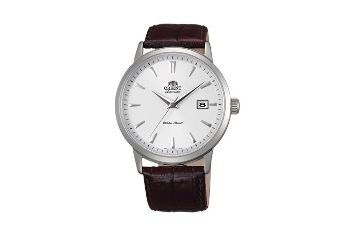 ORIENT: Mechanisch Modern Uhr, Leder Band - 41.0mm (ER27007W)