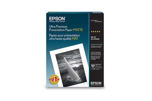 "Ultra Premium Presentation Paper Matte, 8.5"" x 11"", 50 sheets"