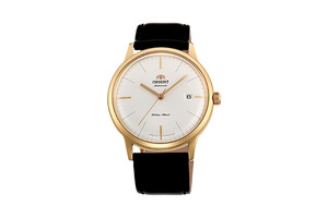 ORIENT: Mechanical Classic Watch, Leather Strap - 40.5mm (AC0000BW)