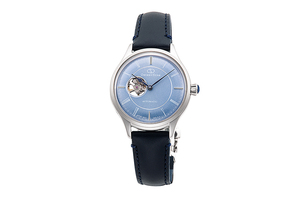 ORIENT STAR: Mechanical Classic Watch, Leather Strap - 30.5mm (RE-ND0012L)