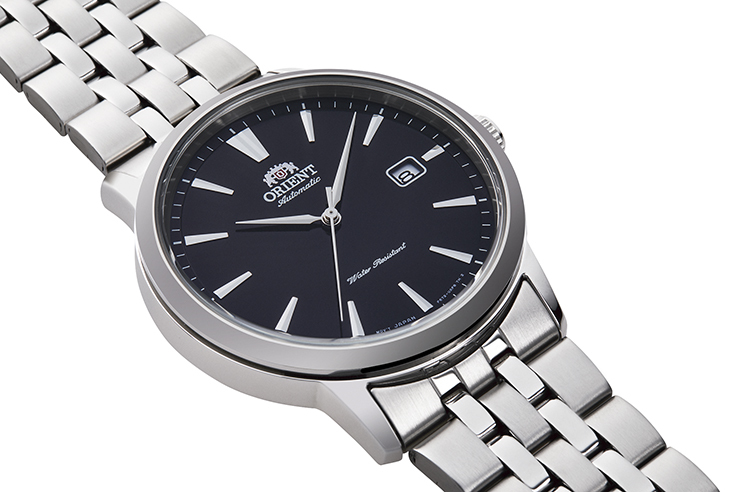 ORIENT: Mechanical Contemporary Watch, Metal Strap - 41.6mm (RA-AC0F01B)