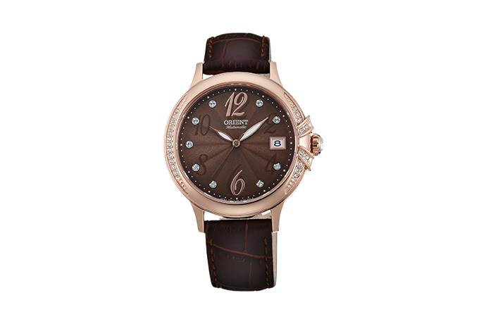 ORIENT: Mechanical Contemporary Watch, Leather Strap - 37.5mm (AC07001T)