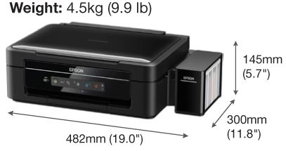 how to connect epson l365 printer to wifi