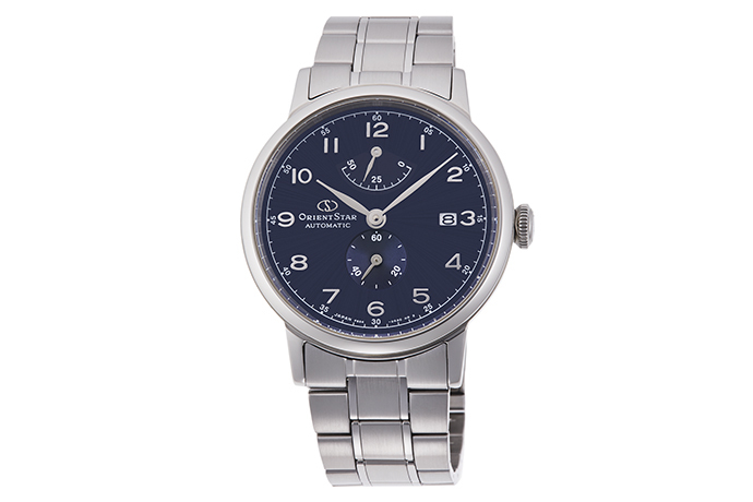 ORIENT STAR: Mechanical Classic Watch, Metal Strap - 38.7mm (RE-AW0002L)