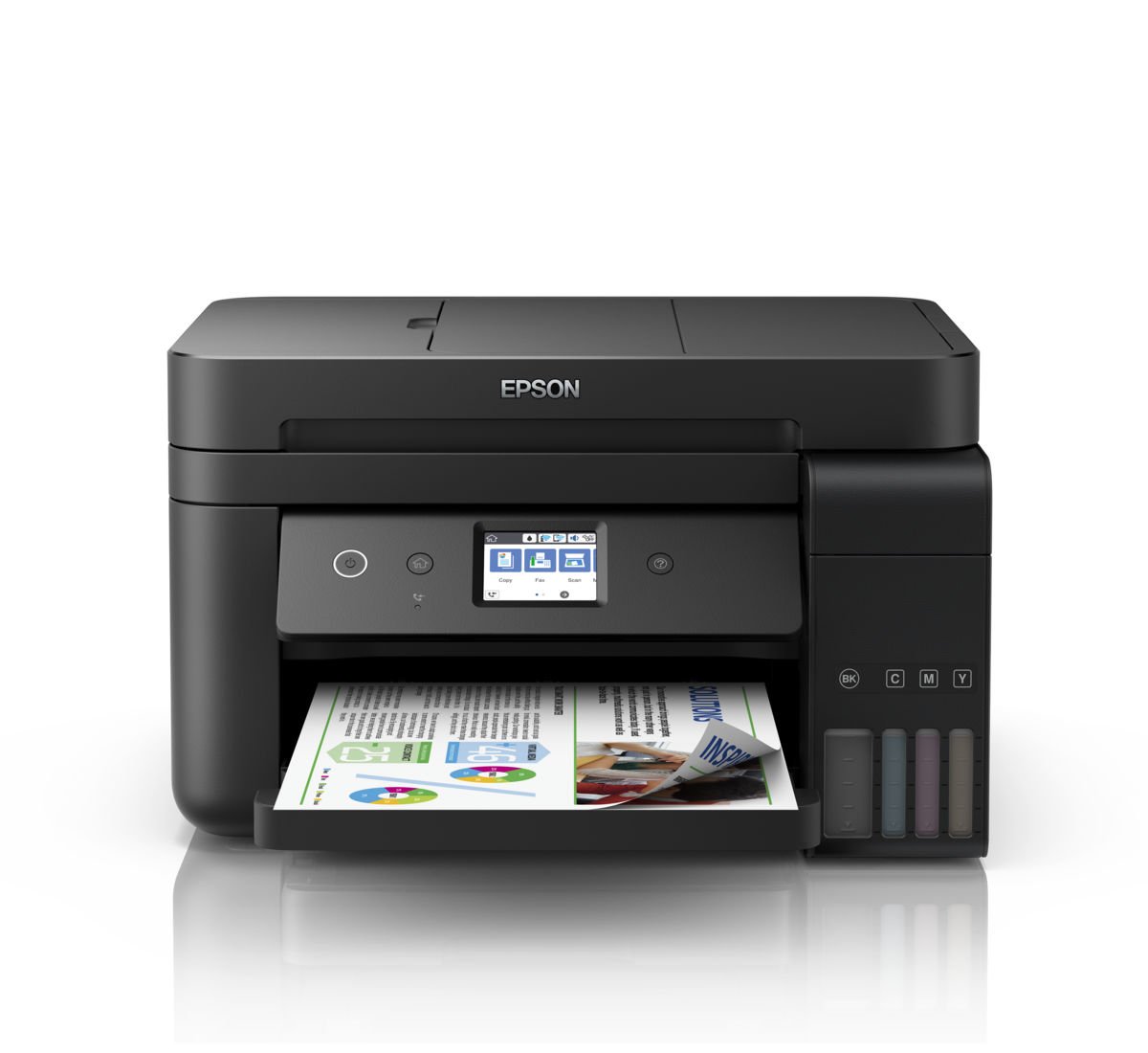 Ecotank L6190 Wi Fi Duplex Multifunction Inktank Printer With Adf Ecotank Printers Printers For Home Epson India