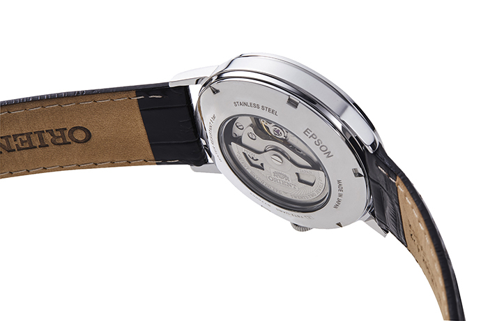 ORIENT: Mechanical Classic Watch, Leather Strap - 41mm (RA-AG0010S)