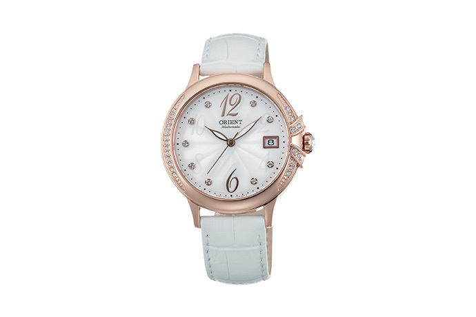 ORIENT: Mechanical Contemporary Watch, Leather Strap - 37.5mm (AC07002W)