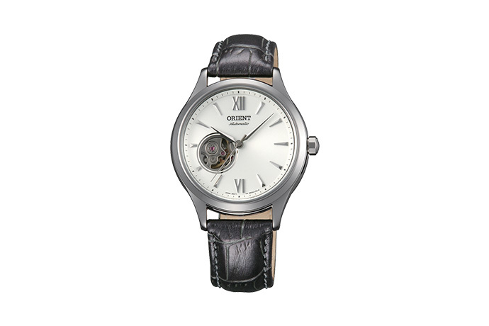 ORIENT: Mechanical Contemporary Watch, Leather Strap - 36.0mm (DB0A005W)