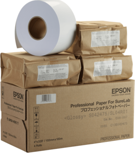 "Epson Pro Glossy Paper - SL 5""x100m 1 Roll"
