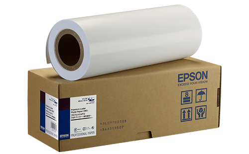 Epson Premium Luster Photo Paper - 44 in x 30m 1 Roll