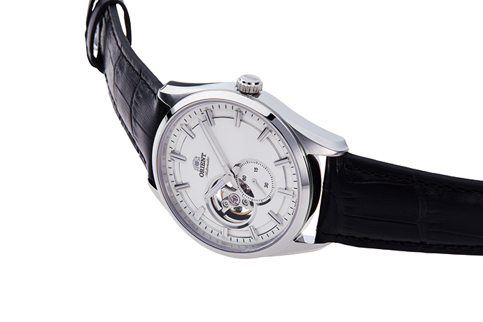 ORIENT: Mechanical Contemporary Watch, Leather Strap - 40.8mm (RA-AR0004S)