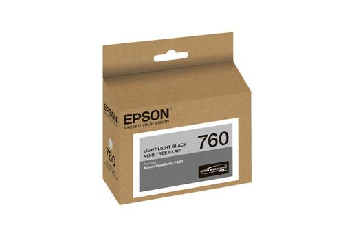 Epson 760, Light Light Black Ink Cartridge