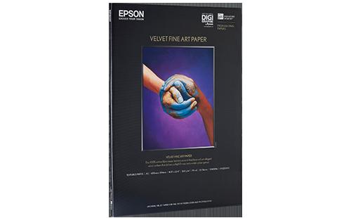Epson Velvet Fine Art Paper - A2 25 Sheets
