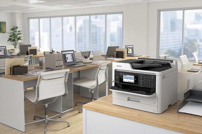 Impressora Multifuncional WorkForce Pro WF-C5710