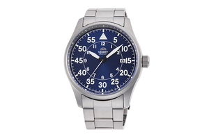ORIENT: Mechanical Sports Watch, Metal Strap - 42.4mm (RA-AC0H01L)