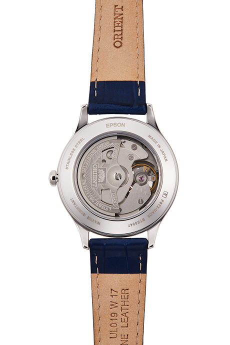 ORIENT: Mechanical Contemporary Watch, Leather Strap - 35.9mm (RA-AG0018L)