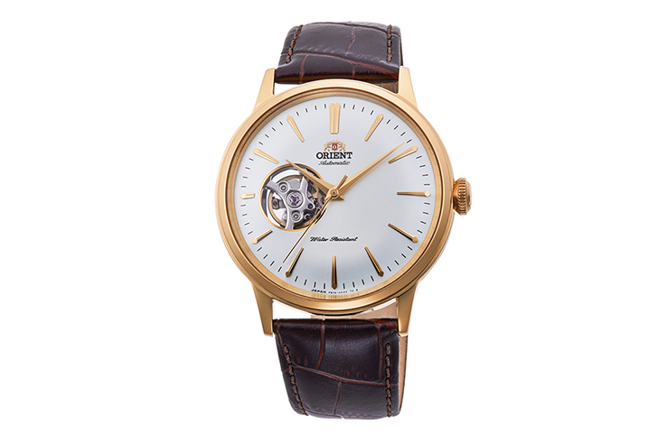 ORIENT: Mechanical Classic Watch, Leather Strap - 40.5mm (RA-AG00003S)