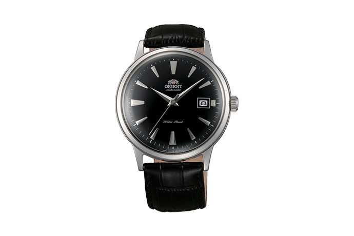 ORIENT: Mechanical Classic Watch, Leather Strap - 40.5mm (AC00004B)