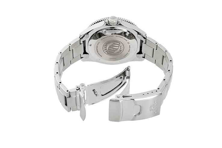 ORIENT: Mechanical Sports Watch, Metal Strap - 43.6mm (RA-AA0914E)