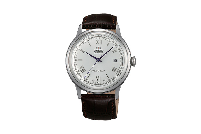 ORIENT: Mechanical Classic Watch, Leather Strap - 40.5mm (AC00009W)