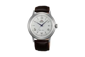 ORIENT: Mechanisch Klassisch Uhr, Leder Band - 40.5mm (AC00009W)