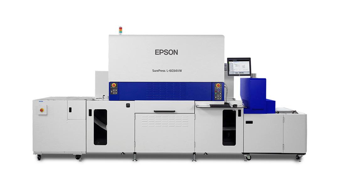 Short Run Label Printer - Epson SurePress Digital Label Printer