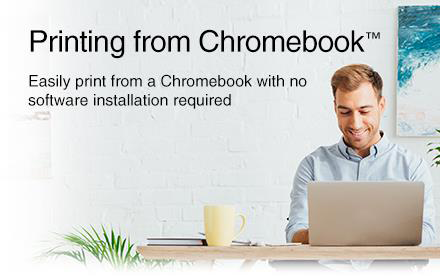 Printing for Chromebook. Easily print from a Chromebook with no software installation required.