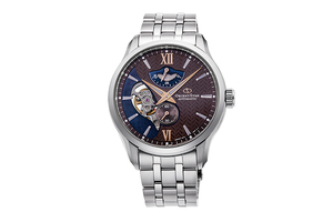 ORIENT STAR: Mechanical Contemporary Watch, Metal Strap - 41.0mm (RE-AV0B02Y)