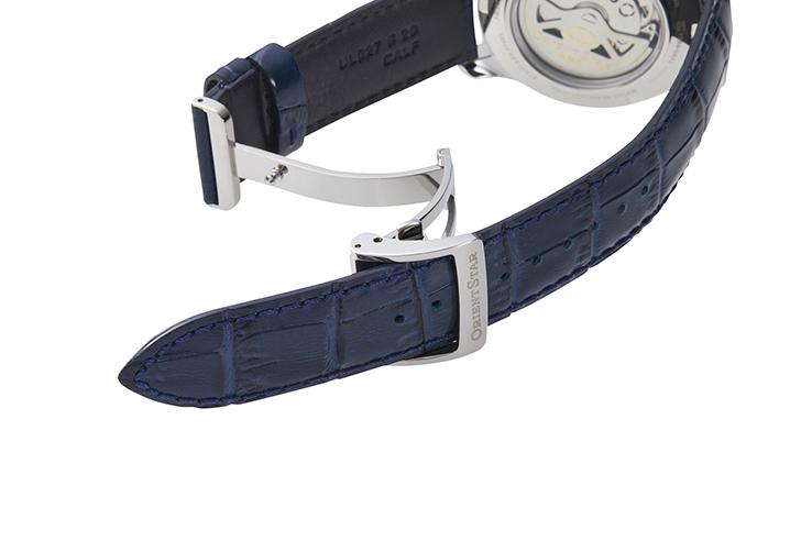ORIENT STAR: Mechanisch Klassisch Uhr, Krokodilleder Band - 39.0mm (DX02002S)
