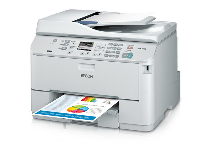Epson WorkForce Pro WP-4590 Network Multifunction Color Printer with PCL - Refurbished