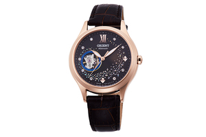 ORIENT: Mechanical Contemporary Watch, Leather Strap - 35.6mm (RA-AG0017Y)