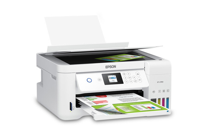 EcoTank ET-2760 All-in-One Cartridge-Free Supertank Printer