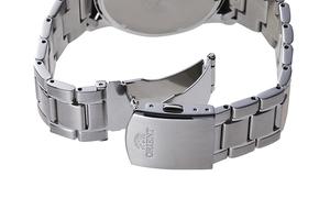 ORIENT: Cuarzo Sports Reloj, Metal Correa - 42.0mm (RA-KV0002L)