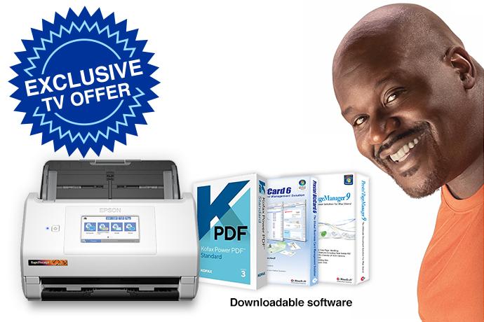 RapidReceipt™ Desktop Scanner, RR-600W