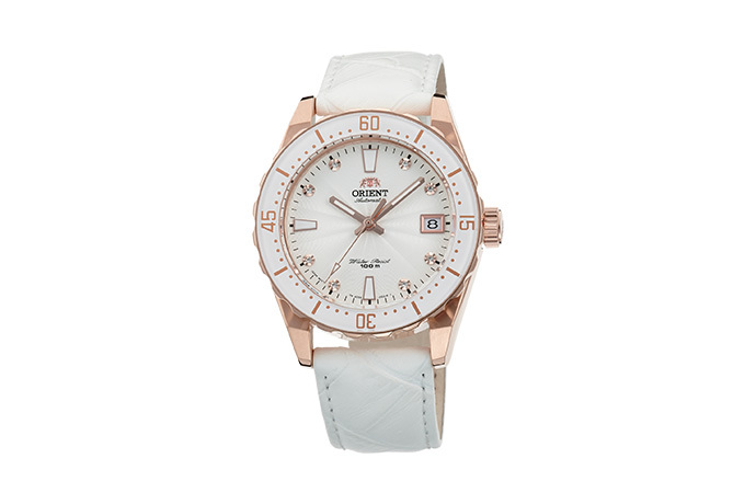 ORIENT: Mechanical Sports Watch, Leather Strap - 39.0mm (AC0A003W)
