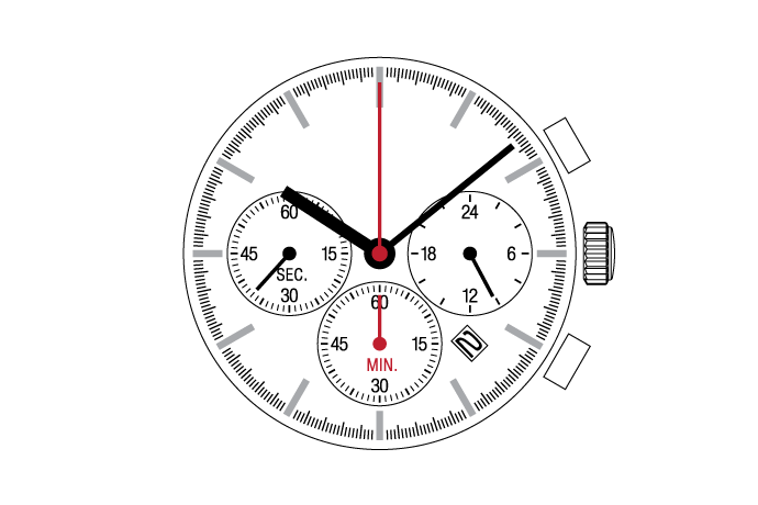 Center Chronograph  YM12