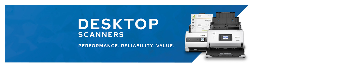 Desktop Scanners | Performance. Reliability. Value.